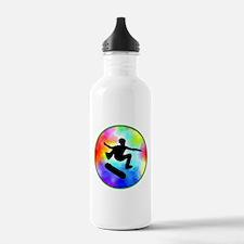 Tie Dye Skater Water Bottle