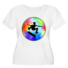 Tie Dye Skater T-Shirt