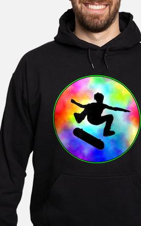 Tie Dye Skater Hoodie (dark)