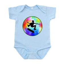 Tie Dye Skater Infant Bodysuit