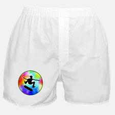 Tie Dye Skater Boxer Shorts