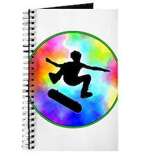 Tie Dye Skater Journal