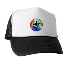 Tie Dye Skater Trucker Hat