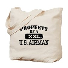 Property of a U.S. Airman Tote Bag