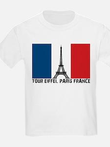 Tour Eiffel Paris France T-Shirt