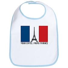 Tour Eiffel Paris France Bib