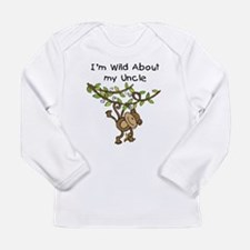 Wild About My Uncle Long Sleeve Infant T-Shirt