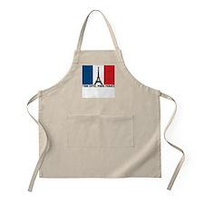 Tour Eiffel Paris France Apron