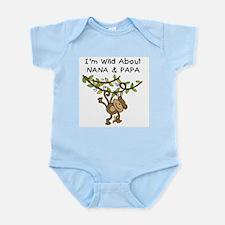 Wild About Nana & Papa Infant Bodysuit