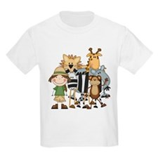 Girl on Safari T-Shirt