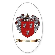 Ryan Coat of arms Decal