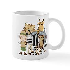 Boy on Safari Mug