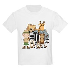 Boy on Safari T-Shirt