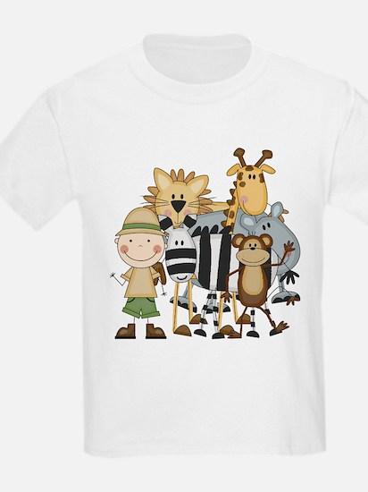 Boy on Safari T-Shirt