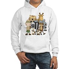 Boy on Safari Hoodie