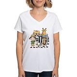 Safari Womens V-Neck T-shirts