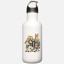 Girl on Safari Water Bottle