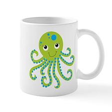 Green Octopus Mug