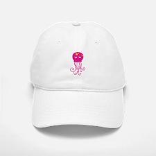 Pink Jellyfish Baseball Baseball Cap