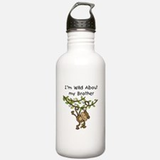 Wild About My Brother Water Bottle