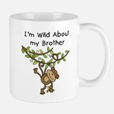 Wild About My Brother Mug