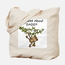 Wild About Daddy Tote Bag