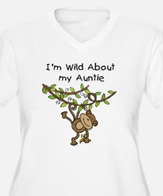 Wild About Auntie Long Sleeve T-Shirt
