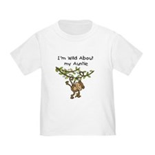 Wild About Auntie Long Sleeve T