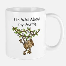 Wild About Auntie Long Sleeve Mug