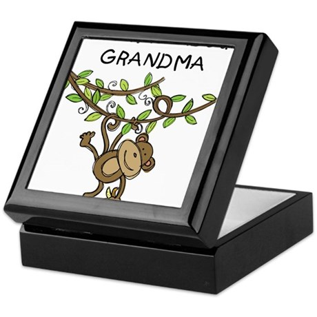 Wild About Grandma Keepsake Box