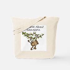 Wild About Grandpa Tote Bag