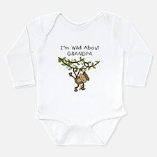 Wild About Grandpa Long Sleeve Infant Bodysuit