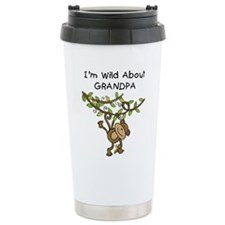Wild About Grandpa Travel Mug
