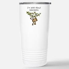 Wild About Grandpa Travel Mug