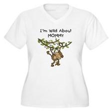Wild About Mommy Long Sleeve T-Shirt