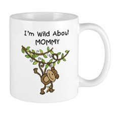 Wild About Mommy Long Sleeve Mug