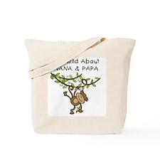 Wild About Nana & Papa Tote Bag