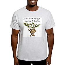 Wild About Nana & Papa T-Shirt