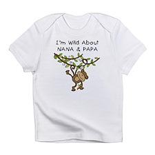 Wild About Nana & Papa Infant T-Shirt