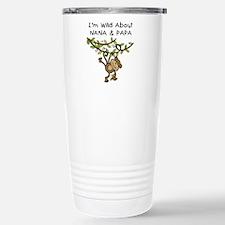 Wild About Nana & Papa Travel Mug
