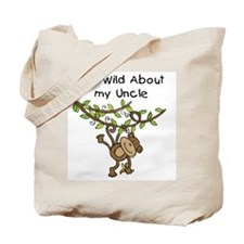 Wild About My Uncle Long Sleeve Tote Bag