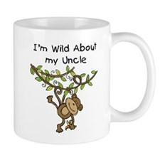Wild About My Uncle Long Sleeve Mug