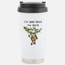 Wild About My Uncle Long Sleeve Travel Mug