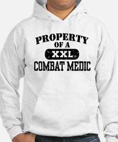 Property of a Combat Medic Hoodie