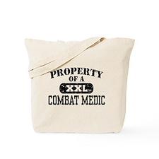 Property of a Combat Medic Tote Bag
