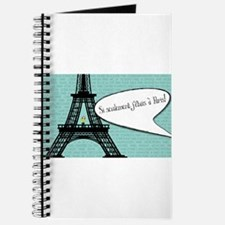 If only I were in Paris! Journal