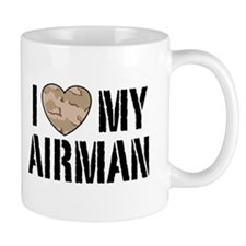 I Love My Airman Mug