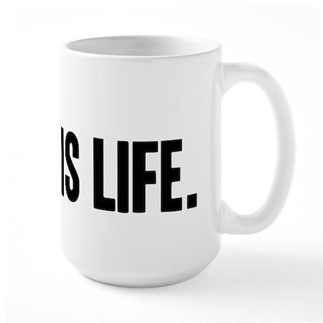 Grey's Is Life Large Mug