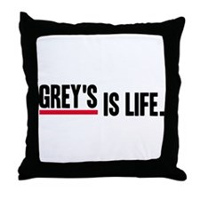 Grey's Is Life Throw Pillow