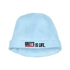 Grey's Is Life baby hat